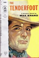 Max Brand: Tenderfoot. : Pocket [Canadian] 954996
