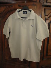 Fred Perry Men`s Pique Cotton Polo Tennis Golf Shirt  (Size M)