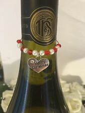 Wine Glass Charm & Wine bottle Charm 6 different ones to choose