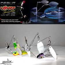 """MOLIX  """"LOVER SPINNERBAIT"""" 14g (1/2oz) BY MIKE IACONELLI"""
