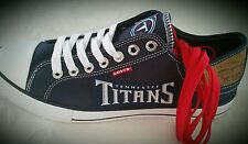 Tennessee Titans Levis Canvas Womens  Sneakers