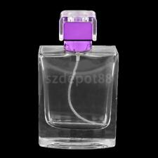 Travel Refillable Perfume Atomizer Empty Clear Bottle Scent Pump Spray 100ml