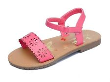 Infant Baby Girls Toddler Pink Sandals Summer Shoes Size 4 to 12 By Chatterbox