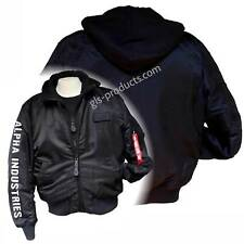 Alpha Industries MA-1 D-Tec SE Embroidery Original Bomber Jacket Detachable Hood