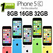Apple iPhone 5C 8GB 16GB 32GB Factory Unlocked Smartphone - Various Colours UK