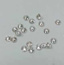 Natural White Diamond 0.90mm - 3mm Round J & K Color SI Quality Loose Diamonds