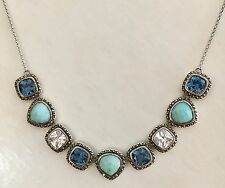 Judith Jack Sterling Silver/Turquoise Necklace