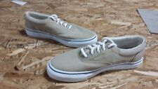 New Mens Sperry Top Siders Striper CVO Salt-Washed Twill Lace Up Sneakers (J216)