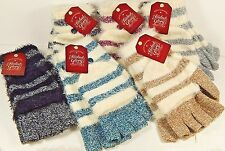 Women's/Junior Striped Pop Top Gloves Faded Glory Assorted Colors