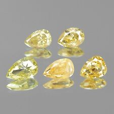 Fancy Greenish Yellow Diamond Pear Shape 0.66 cts Natural Loose Diamond F568