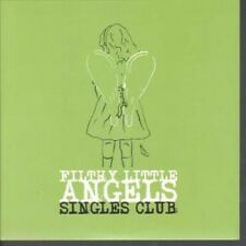 """FAIRIES BAND/VICHY GOVERNMENT Filthy Little Angels Singles Club 7"""" Green Vinyl 4"""