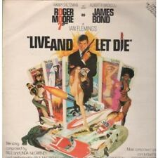 LIVE AND LET DIE Original Motion Picture Soundtrack LP 14 Track Featuring Music
