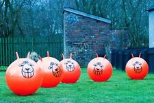 GIANT KIDS ADULT SIZE RETRO SPACE HOPPER TOY EXERCISE YOGA BALL BOUNCE 80CM