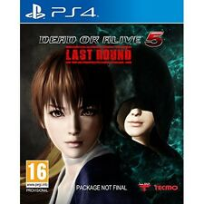 Dead or Alive 5 Last Round Sony PlayStation 4 New