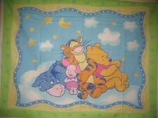 Winnie the Pooh Tigger Eeyore Piglet cotton quilting fabric panel *CHOOSE*