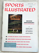 Sports Illustrated Second Anniversary Issue August 20, 1956