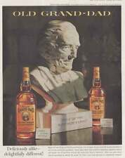 1960 Old Grand-Dad Whiskey: Deliciously Alike Print Ad (15971)