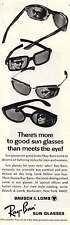 1965 Ray-Ban Sun Glasses: There's More to Good Sun Glasses Print Ad (6410)