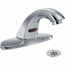 Delta 591LF-HGMHDF Centerset Battery Electronic Bathroom Faucet Polished Chrome