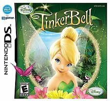 Disney Fairies: Tinker Bell Nintendo DS Tinkerbell Tested No Case Free Ship