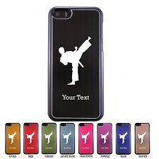 Personalized Engraved Karate Hard Aluminum Style Case Cover for iPhone 5c