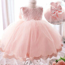 Formal Flower Girl Kids Christening Wedding Party Bridesmaid Princess Gown Dress