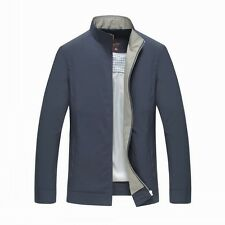 New Mens Coat Slim-fitting Business Jacket Parka Outwear Hipster Handsome Luxyry