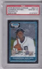 2006 BOWMAN CHROME PROSPECTS CAMERON MAYBIN ROOKIE PSA 10 DETROIT TIGERS