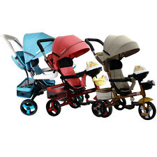 Kid Pushchair Trike Super H215 Bike With Music Stroller Tricycle Pram Push Ride