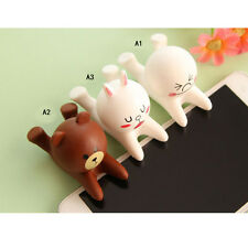 Cute Cartoon Doll Cell Phone Desk Stand Holder For iPhone Samsung Tablet SR1G