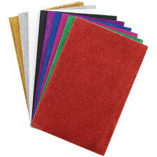 Glitter Sticky Back Foam Sheets 6 Inch X 9 Inch 12/Pkg-Assorted Co 082676500534