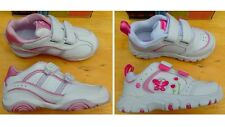 New Stride Rite Girl Toddler Athletic Casual White Pink Shoes