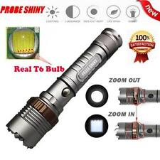5000LM Lumen Zoomable 5 Modes Tactical Flashlight XM-L T6 LED Torch Lamp Light