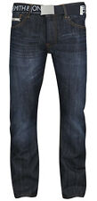 New Mens Smith & Jones Denim Jeans Straight Leg Pants FURIO