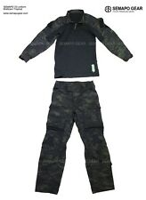 SEMAPO GEAR Multicam Black combat pants Multicam black airsoft combat uniform