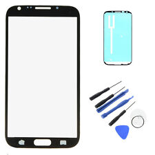 Display Lens Screen Protector Glass For Samsung Galaxy Note 2 N7100 i317+tool