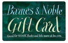 $25   $50   $100 Barnes & Noble Gift card