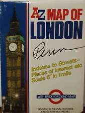 London Map, Geographers' A-Z Map Company, Excellent Book