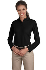 Port Authority - Ladies Long Sleeve Silk Touch Polo L500LS
