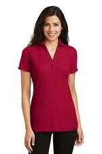 Port Authority Ladies Womens Silk Touch Y-Neck Polo L5001 S-4XL