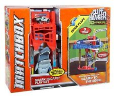 Mattel Exciting Matchbox Cliff Hanger Shark Escape Playset With Lots Of And
