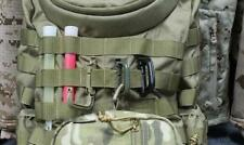 10 Molle Tactical Camping Backpack EDC Carabiner Snap D-Ring Hanging Clip Buckle