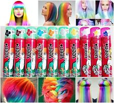 Caring Temporary DIY Hair Spray Many Colors Easy Highlight Glitter Hair  Spray