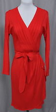 ETCETERA RED STRETCH JERSEY KNIT BELTED HOLIDAY DRESS sizes 2 4 8 NEW $285