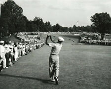 Golf Ben Hogan hitting 1 Iron off the tee during 1950 US Open Photo Print