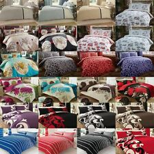 Various Design Duvet Cover with Pillowcase Quilt Cover Bedding Set in all Sizes