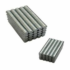 100-200pcs N50 3mmx1mm Small Strong Disc Round Rare-Earth Neodymium Magnets Hot