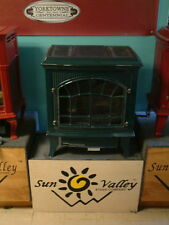 Sun Valley Cast Iron Gas Stove Heater Hepplewhite Vent Free