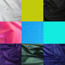 Waterproof Polyester Ripstop nylon Fabric Water Resistant Checks Material 150cm