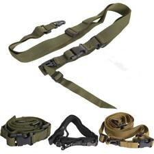Tactical 3 Point Military Bungee Rifle Sling Strap Swivels System for Hunting